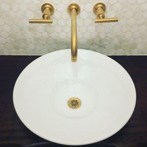 Purist WallMount Sink Faucet Trim Lever Handles KT KOHLER - Kohler purist bathroom sink