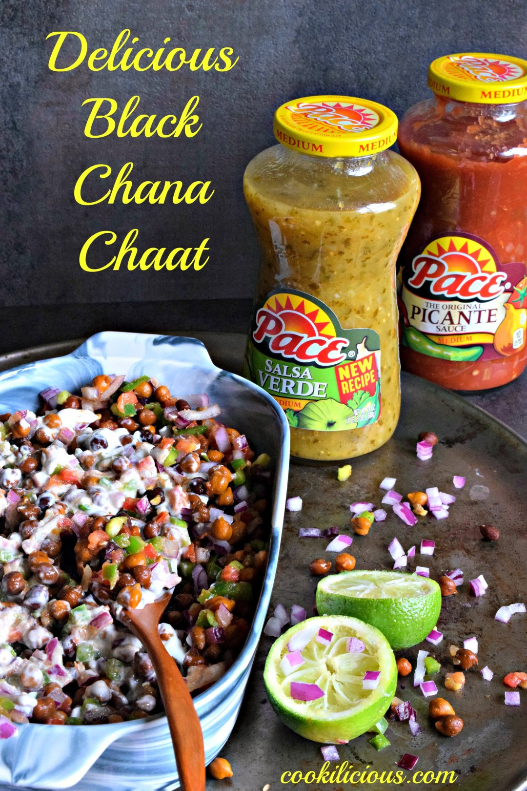 Black Chana Chaat - Indian Street FoodAppetizers & Snacks
