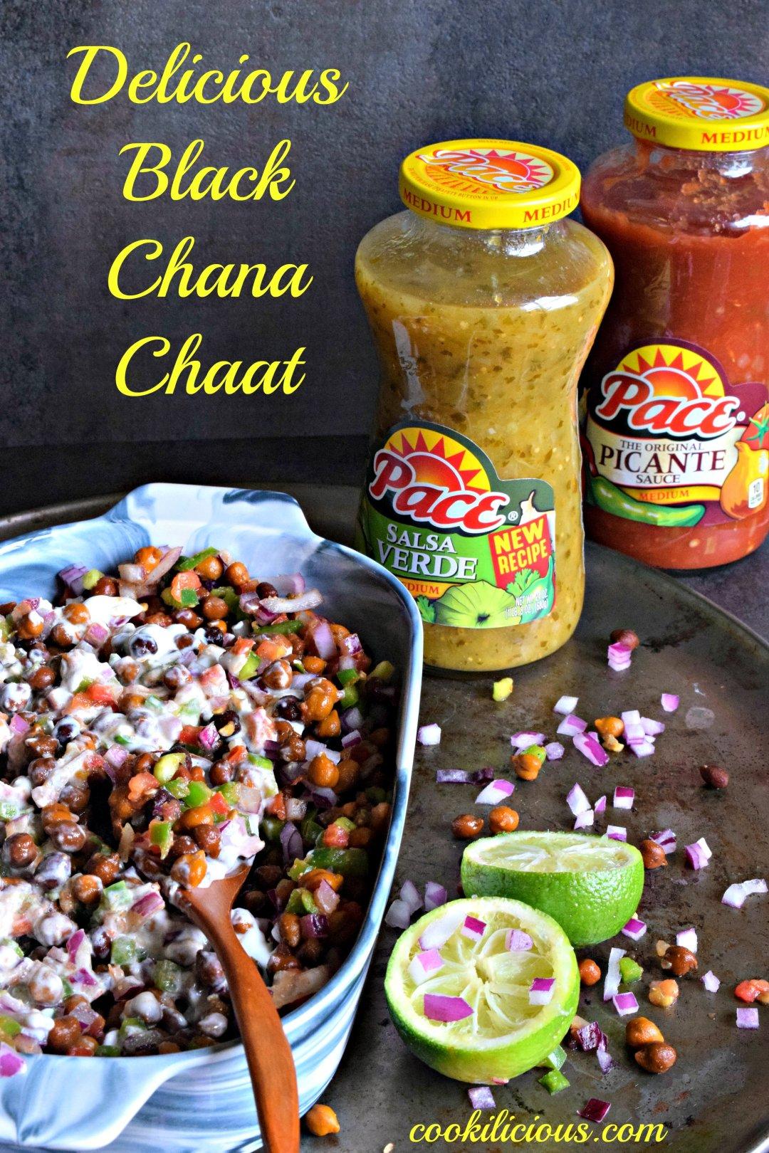 Black Chana Chaat - Indian Street FoodAppetizers & Snacks