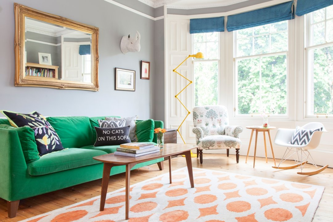 the livingroom edinburgh house tour a colorful patterned victorian in edinburgh apartment therapy 5386