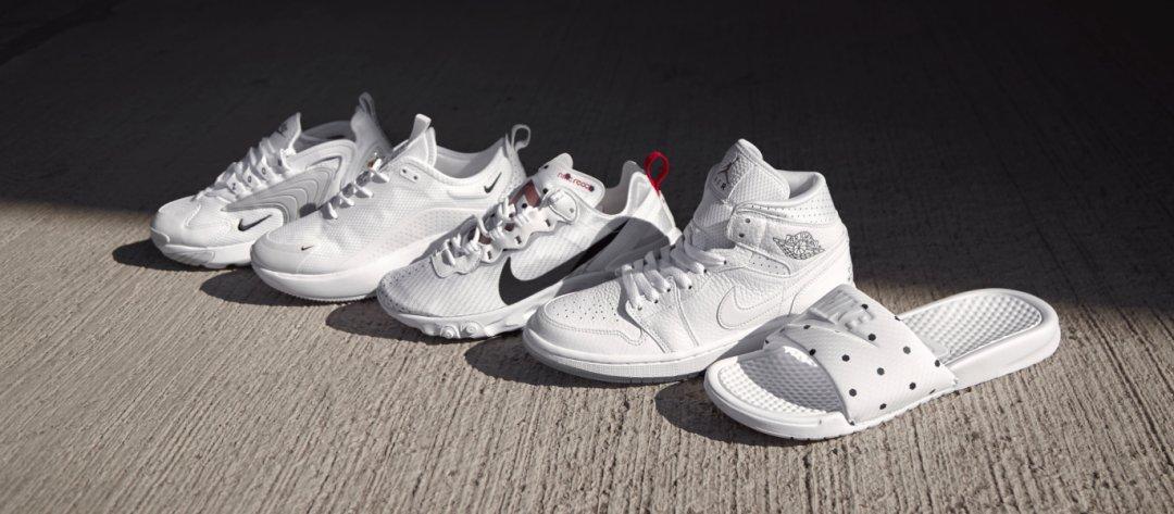 Zapatillas y chanclas de la colección 'Unité Totale' de Nike