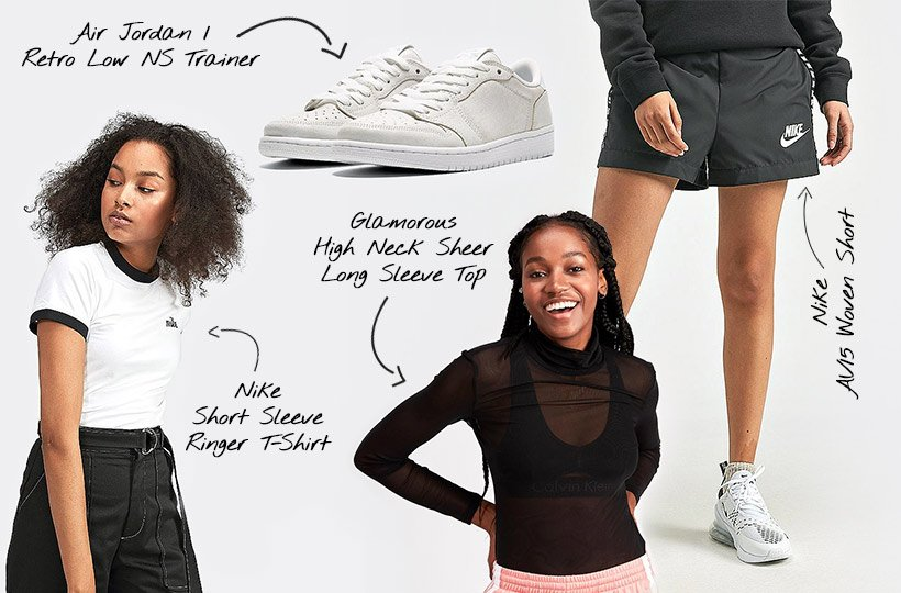 separation shoes 82f39 1c73c Ways to Wear: Jordan for Women