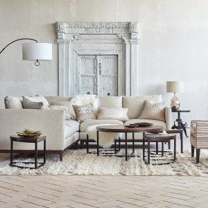 Were Getting Major Weekend Vibes From This Soft And Breezy Living Space