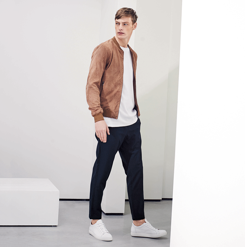 Pared back staples from Selected Homme