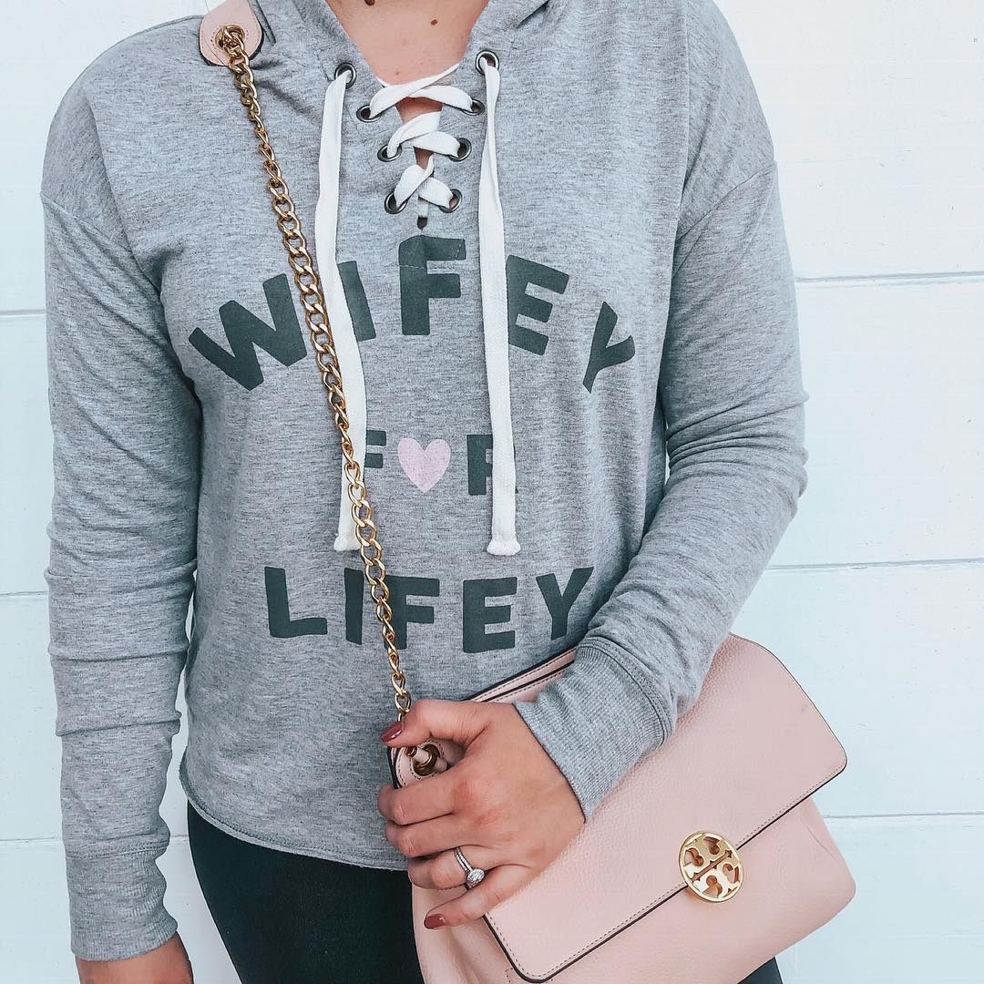 fbbdfc09c ... Cherish Women s Wifey For Lifey Bridal Sleep Sweatshirt - Heather S!  see all your loves · instagram photo by  teacupofstyle