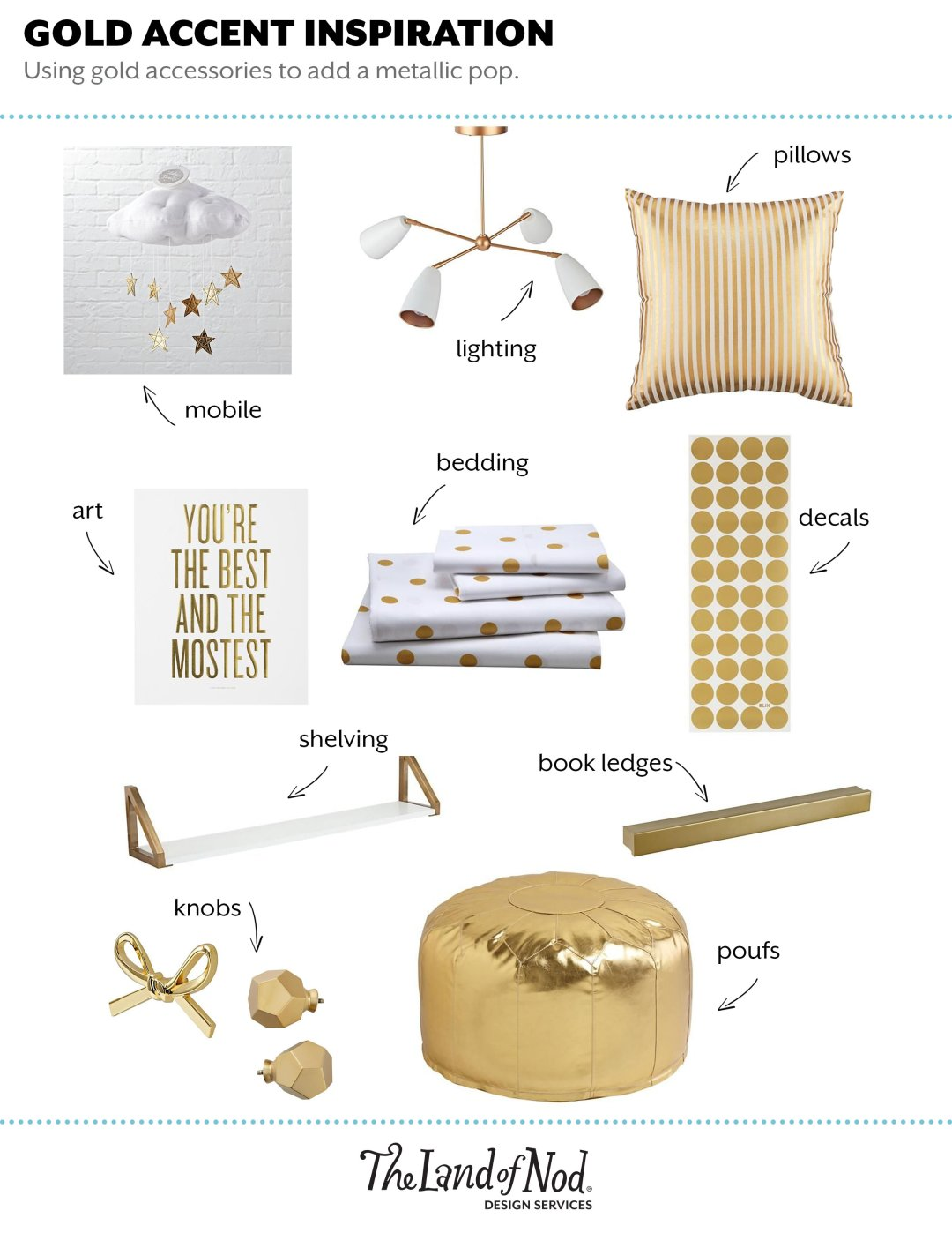 Gold Accent Inspiration