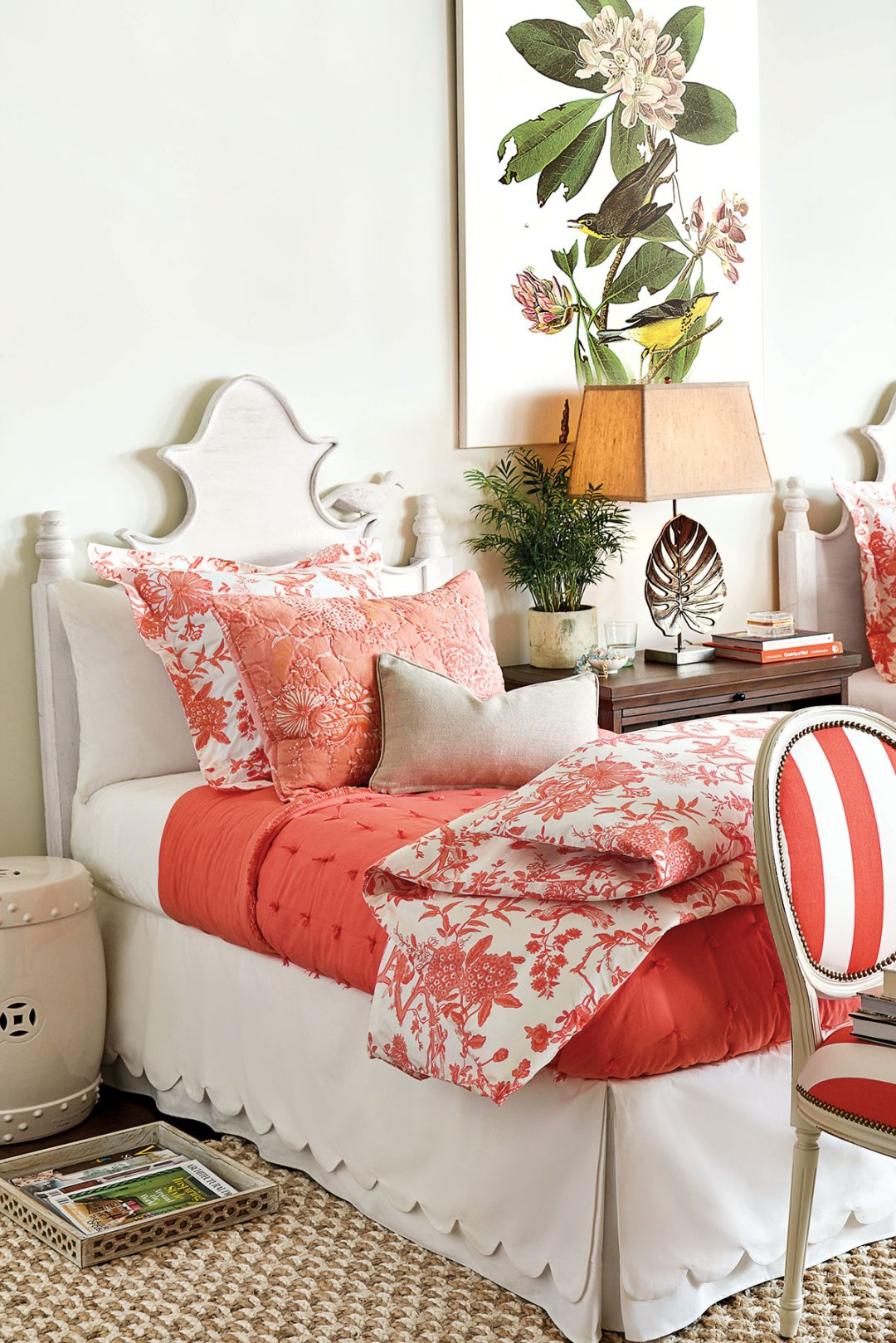 we re loving citrus colors how to decorate claudette headboard 699 00