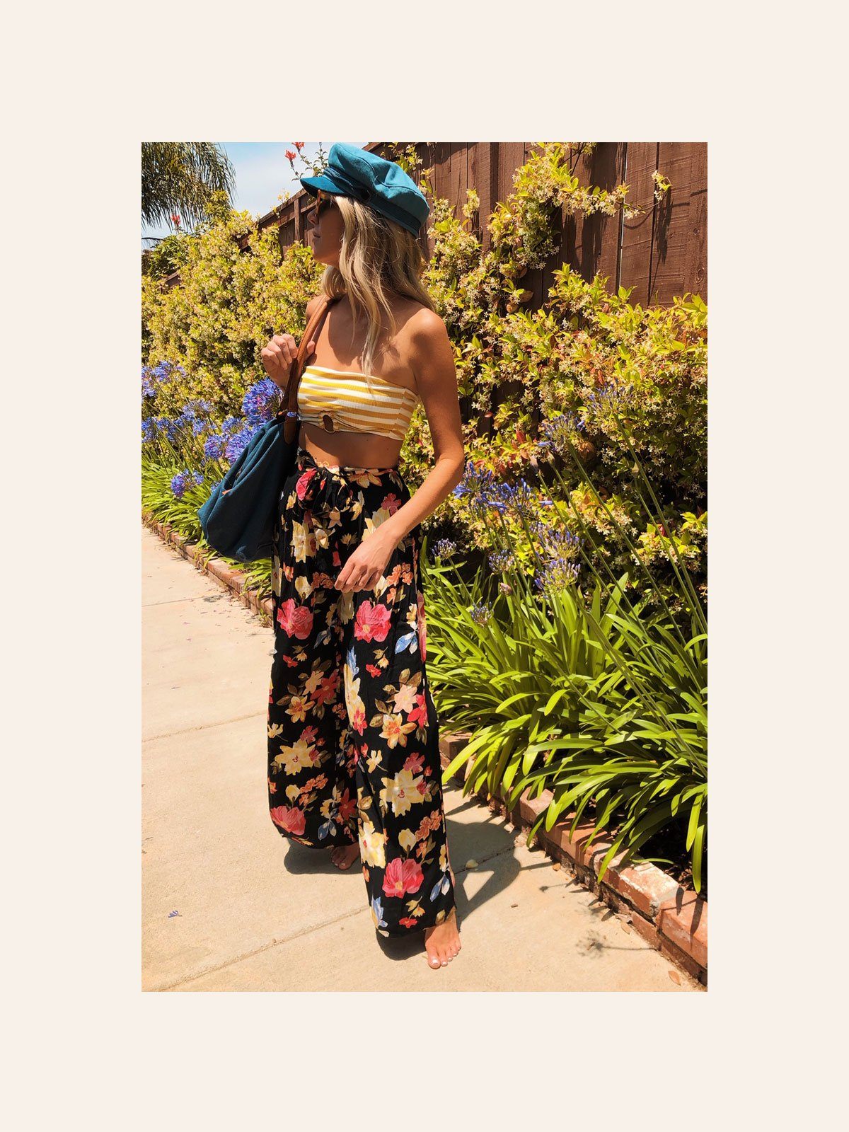 Sunny Rib Tube Bikini Top