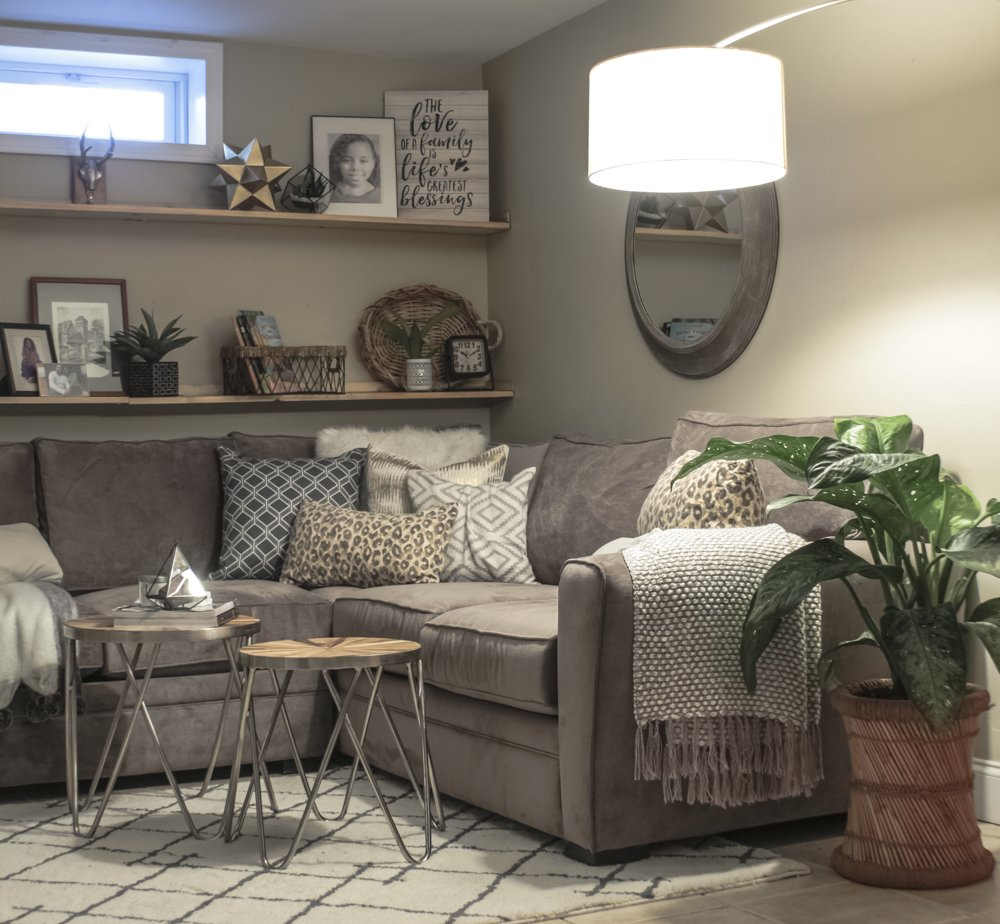 Awesome Cozy Basement Family Room Reveal Made By Carli Pdpeps Interior Chair Design Pdpepsorg