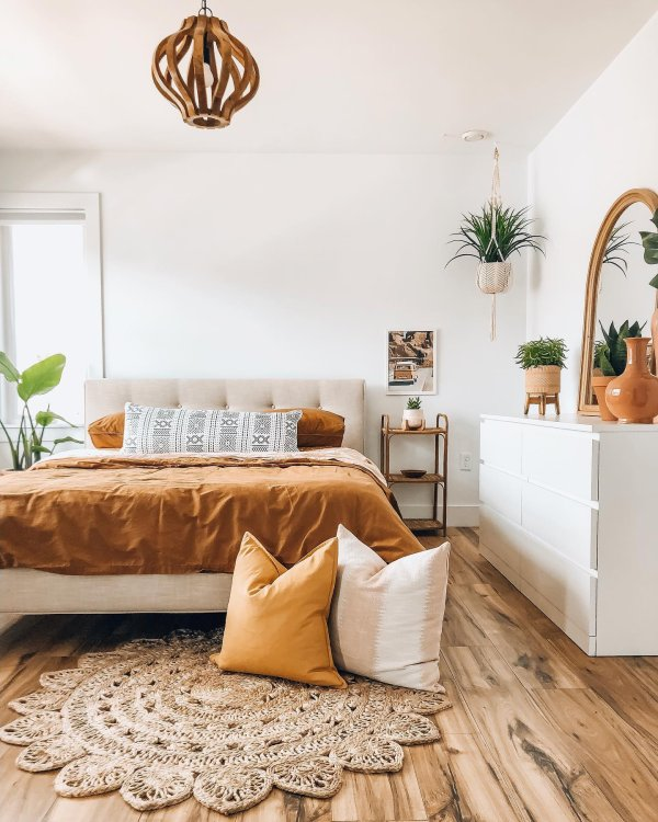 plants eclectic instagram-post boho dining-room 3