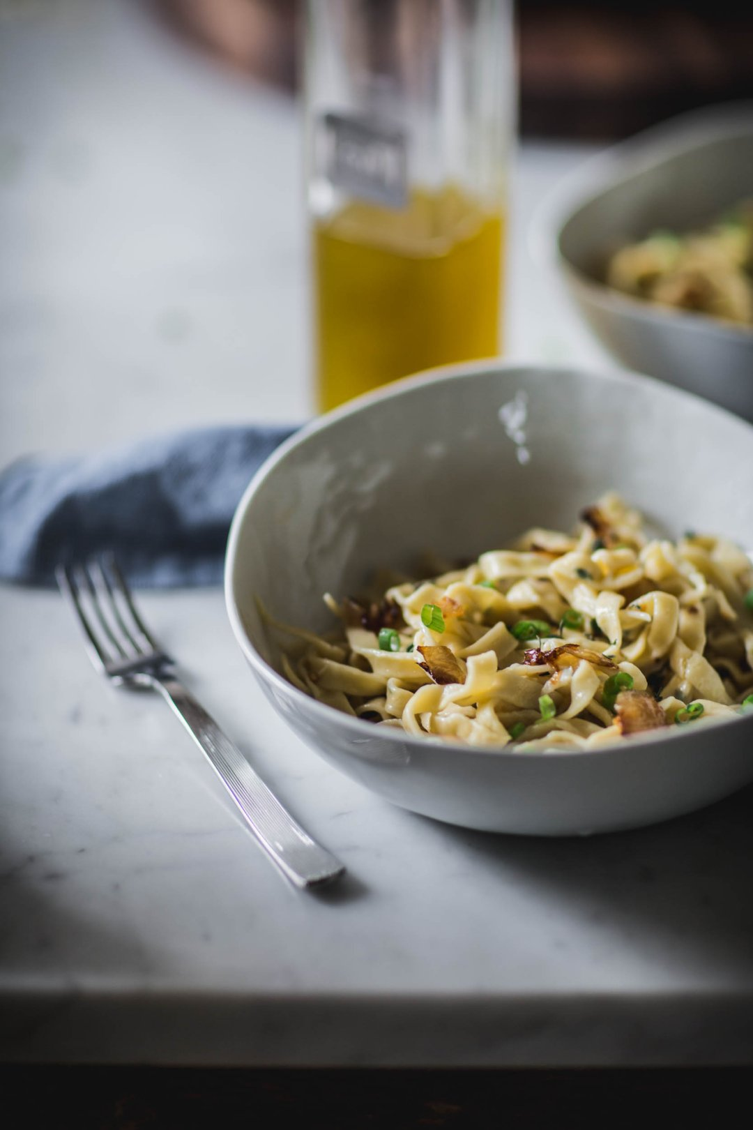 Homemade Thyme Linguine Recipe Crate And Barrel