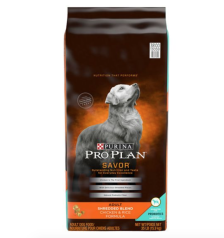 Shop Purina® Pro Plan® Savor Shredded Blend Adult Dog Food - Chicken & Rice and more