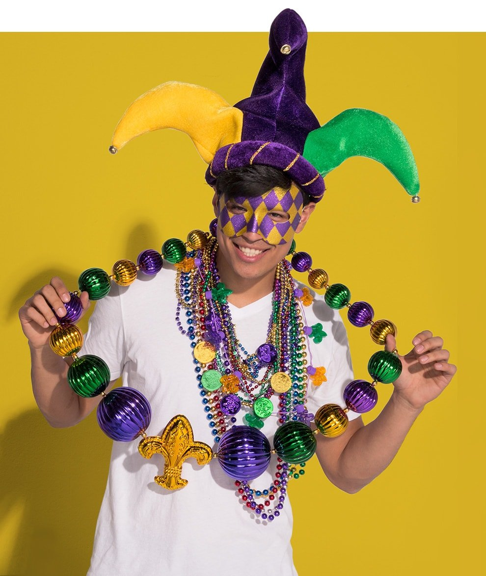 Mardi Gras Outfit Ideas | Party City