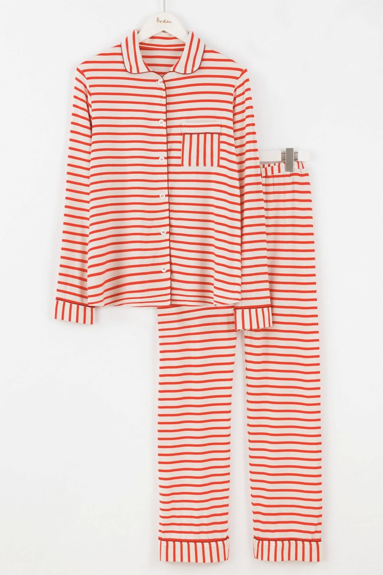 Red Stripe PJs from Boden