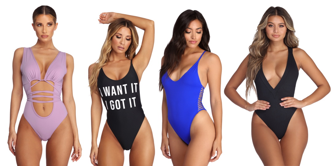 5155a8a7ef Curated image with Bring The Heat Monokini, I Want It, I Got It Swimsuit ...