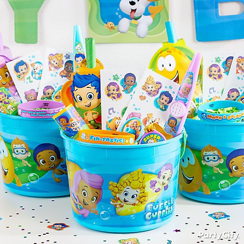 20 Bubble Guppies Puppy Pop STICKERS Party Favors Supplies Birthday