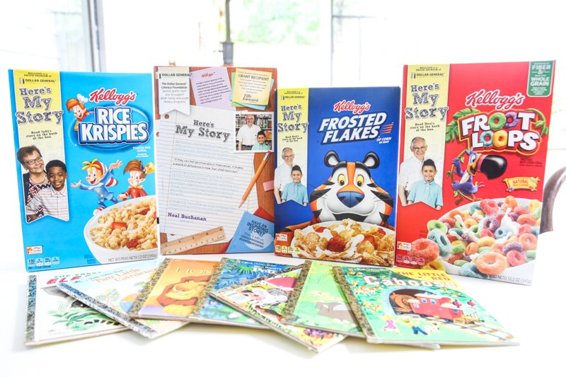 Kellogg's Partners with Dollar General for Here's My Story Campaign Recipe