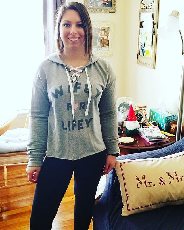1cca6def9 Love   Cherish Women s Wifey For Lifey Bridal Sleep Sweatshirt ...
