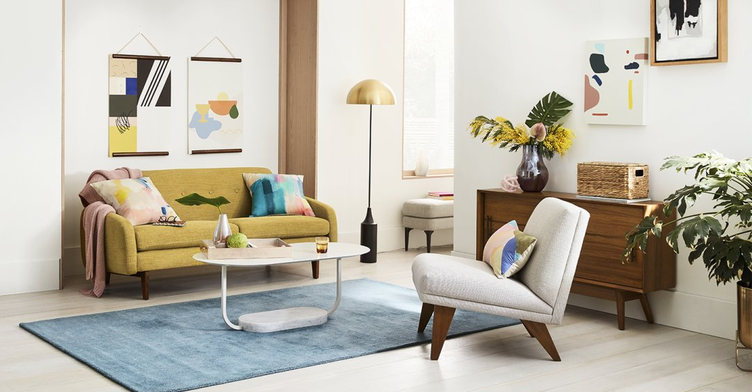 Living room inspiration west elm - Free interior design help ...