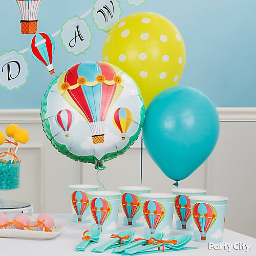 Up Up And Away Baby Shower Ideas Party City