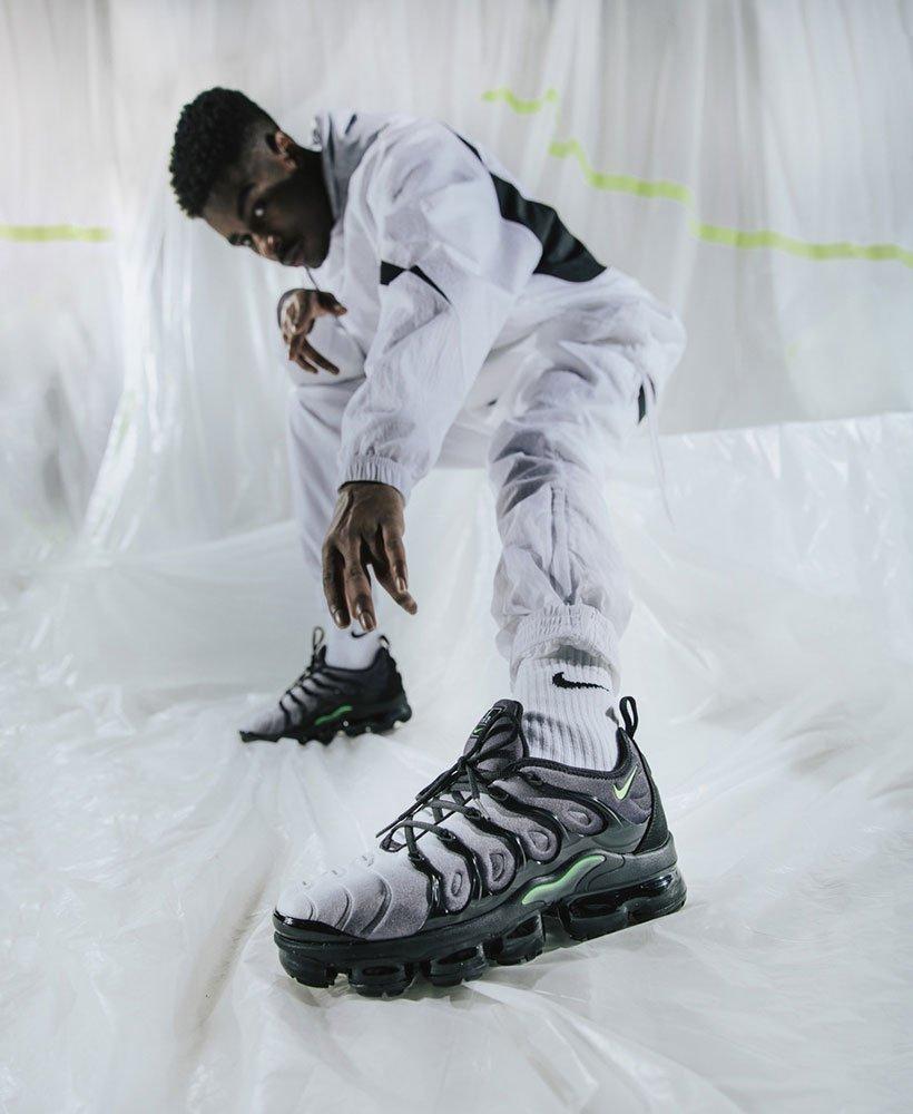 cheap for discount d663a bb94b Spotlight on: Nike VaporMax Plus Black/Volt