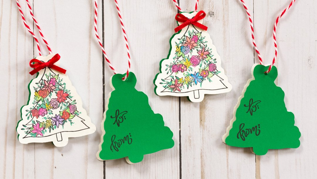 Creating Open Me Holiday Gift Tags by Alli Roth MAIN IMAGE