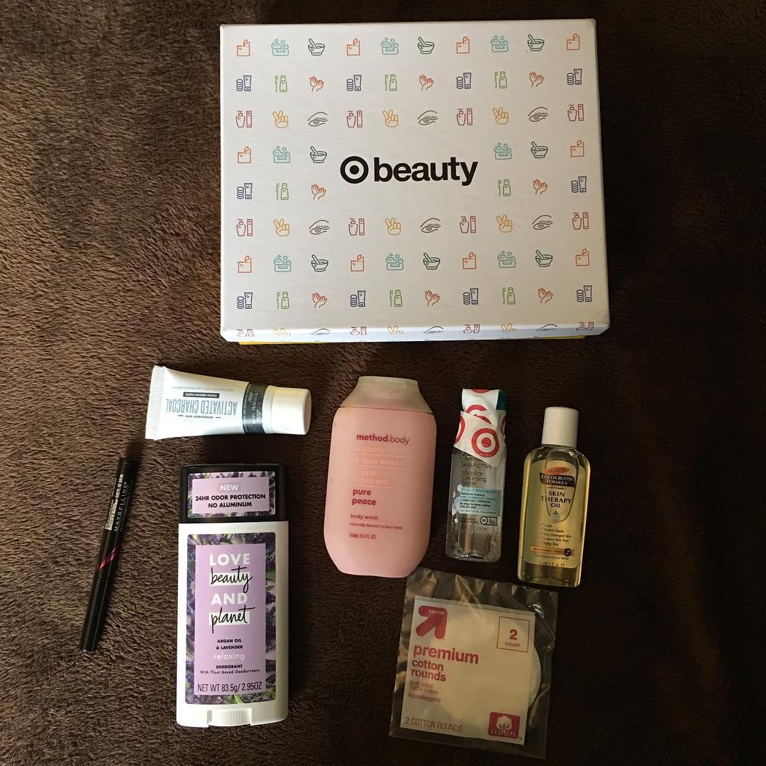 Target Beauty Box January Beauty Target Finds