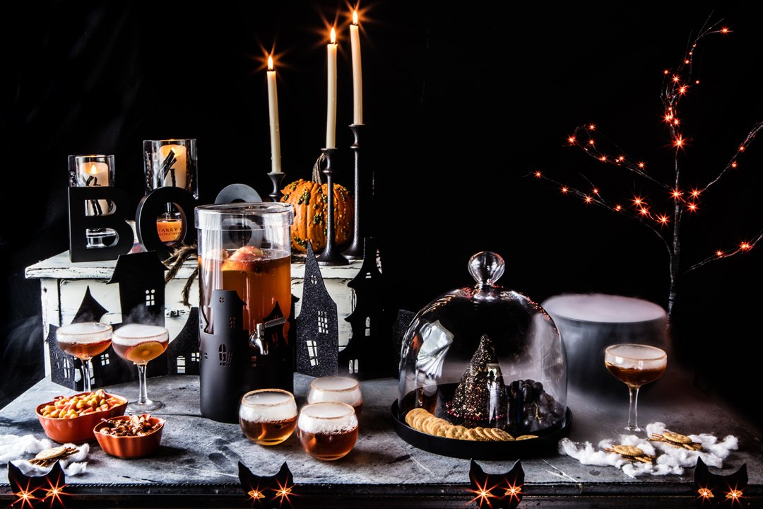 how to throw a halloween party crate and barrel blog. Black Bedroom Furniture Sets. Home Design Ideas