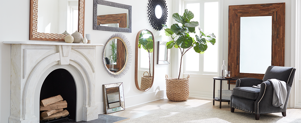 5 Ideas for Decorating with Mirrors | Crate and Barrel