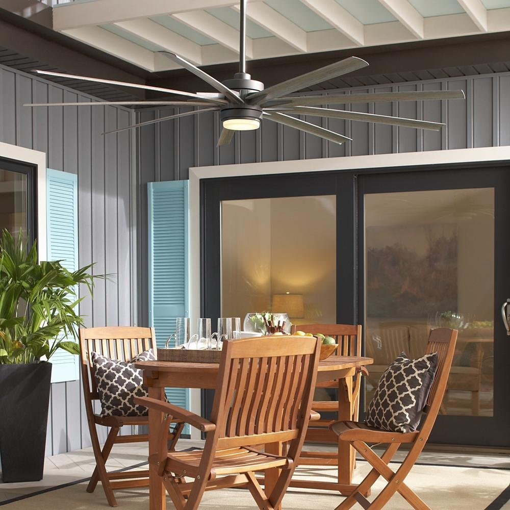 47d5452f0a2 Outdoor ceiling fans offer damp or wet ratings that reflect the fan s  ability to withstand the moisture that you would expect from humidity or  rain.