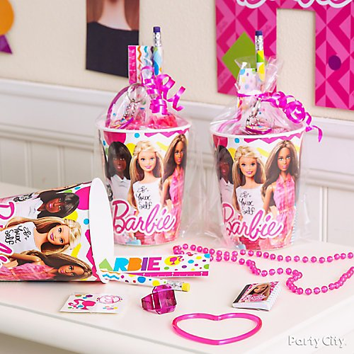 Groovy Barbie Party Supplies Party City Interior Design Ideas Clesiryabchikinfo