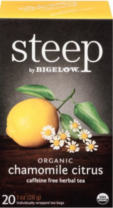 Shop Steep by Bigelow Chamomile Citrus and more