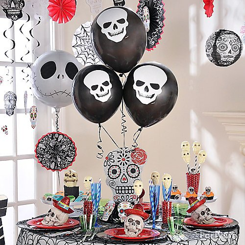 6 Ways To Use Balloons In Your Halloween Decorating Party City