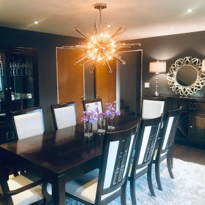 8f06ddbf63 We love this new dining room set and the service we received from our  salesman and