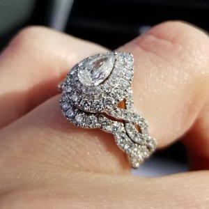 Beautiful Wedding Rings.Neil Lane Engagement Ring 1 1 8 Ct Tw Diamonds 14k White Gold
