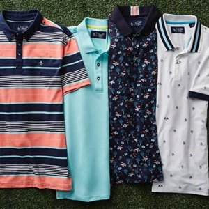ebe93268358 New spring golf polos perfect for a round of golf or a round of drinks!