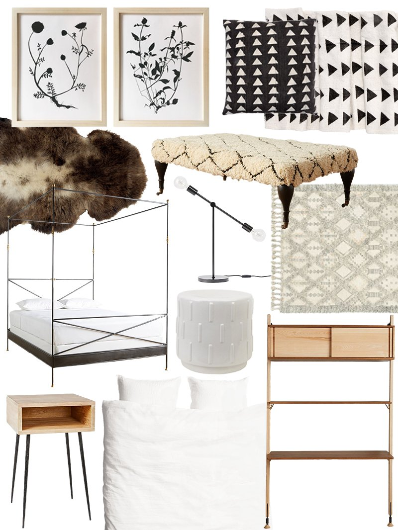organic modern  apartment therapy, Bedroom decor