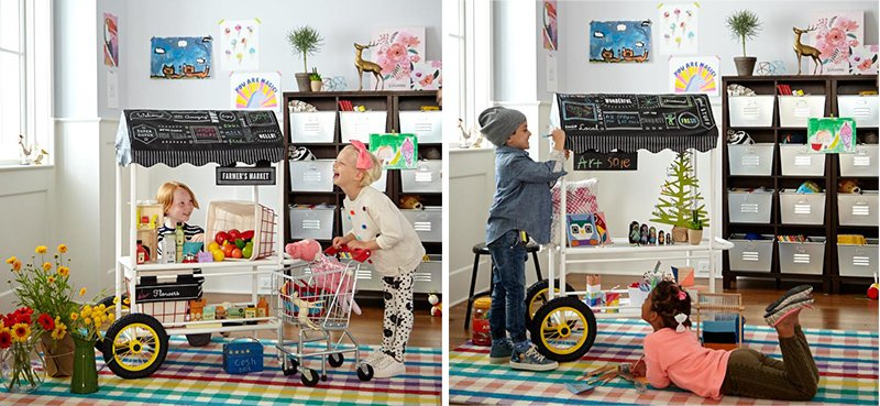 LAND OF NOD GROCERY STAND
