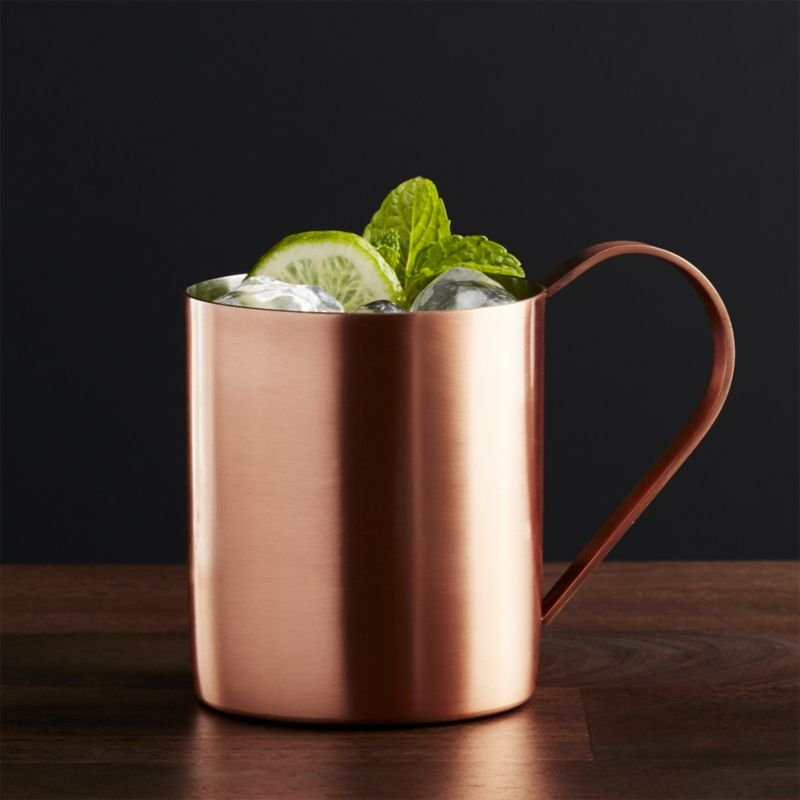 Moscow Mule Mug with drink