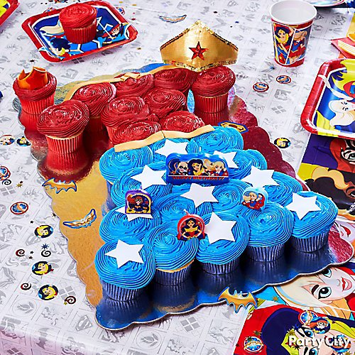 Curated Image With DC Super Hero Girls Birthday Candles 4ct Wonder Woman Tiara