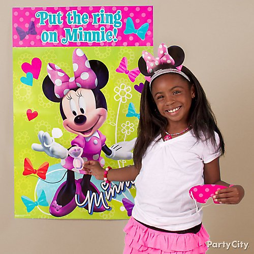 Amazon Com Party City Minnie Mouse Red Halloween Costume For Girls Disney Includes Dress And Headband Clothing