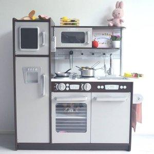 zo blij met lily haar keukentje kidkrafttoys kidkraft - Kidkraft Uptown Espresso Kitchen