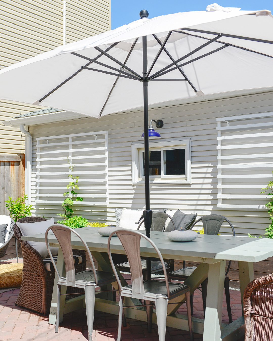 backyard makeover ideas crate and barrel blog