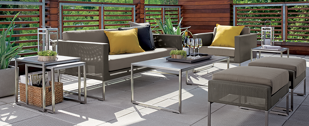 outdoor patio furniture decor ideas crate and barrel