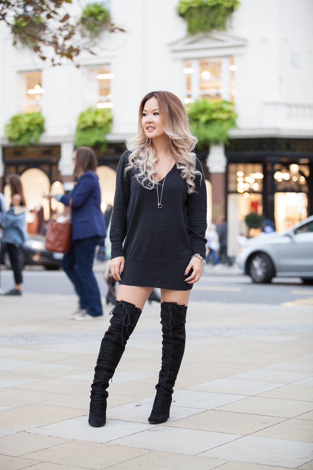 d2c87c4837b SCARLETT - Lace Up Over The Knee Boot £68.00. But can short girls ...