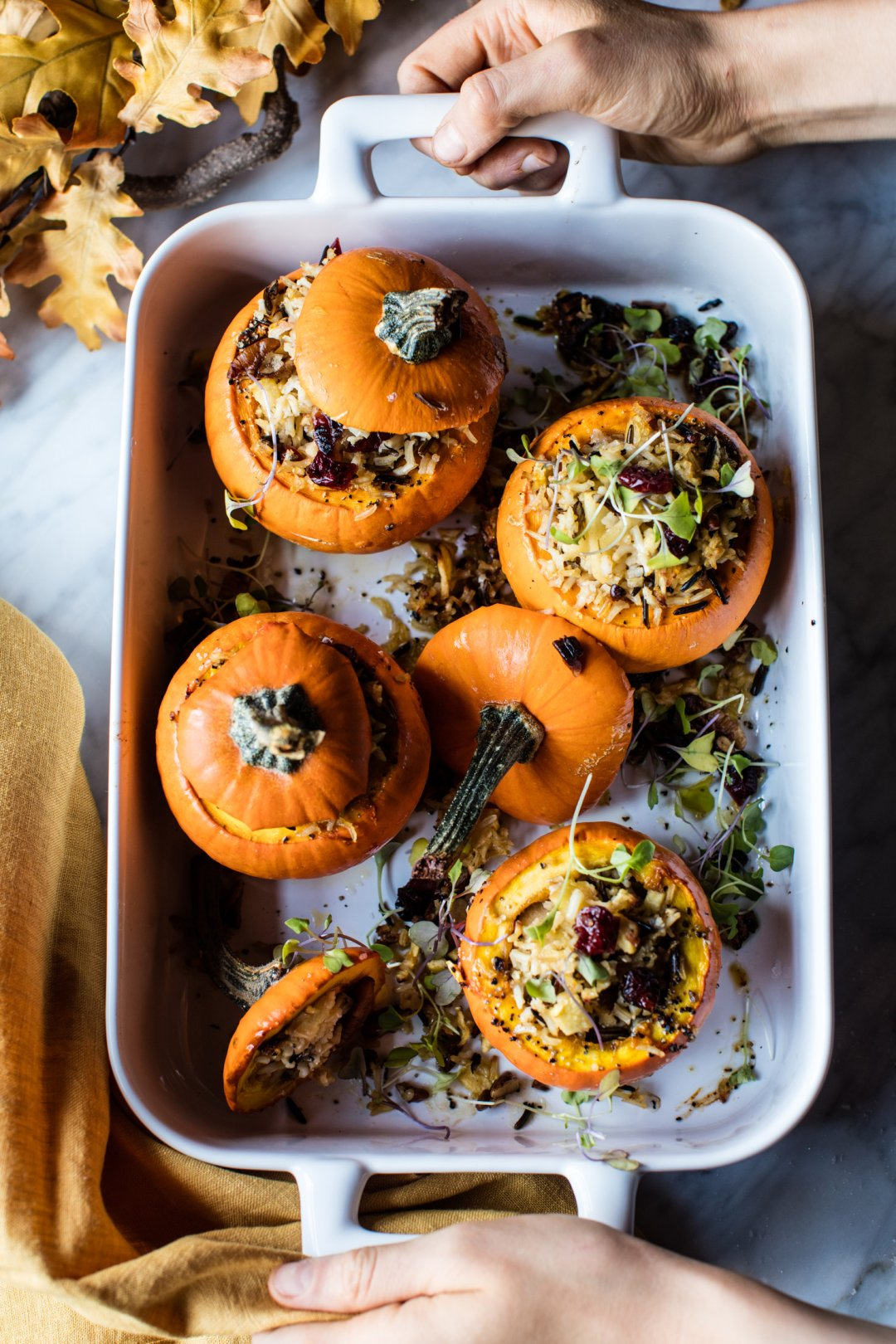 Thanksgiving Stuffed Pumpkin Recipe