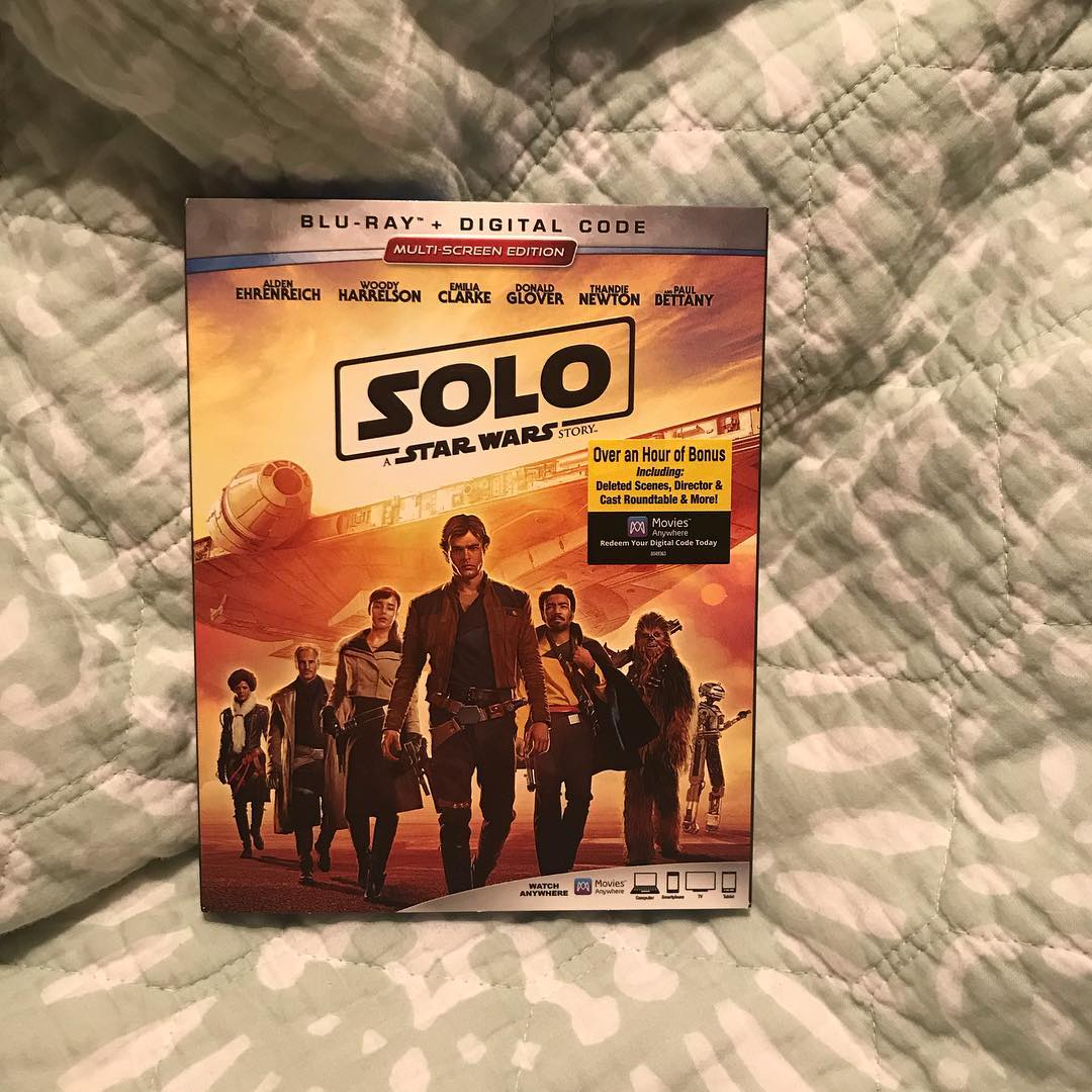 7d6615ae24 Solo  A Star Wars Story (2 Blu-Ray + Digital Code)   Target Finds