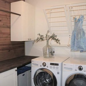 Cinderella Approved Laundry Room This Is Hardworking Space Only 76 X