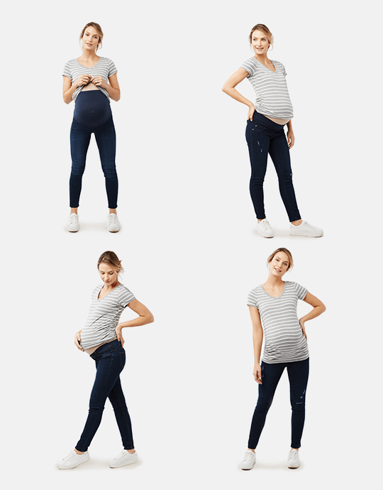 d22f6d473780c Curated image with Secret Fit Belly Maternity Jeans & Denim | Motherhood  Maternity, ...