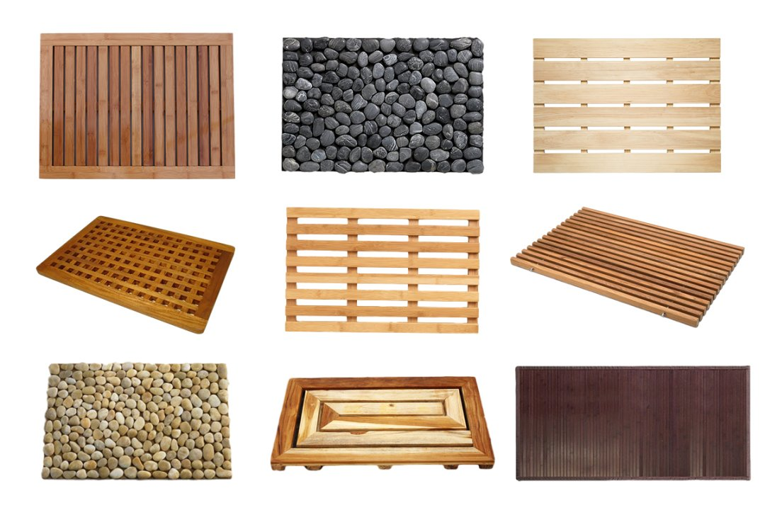 easy upgrade the best wooden bathmats apartment therapy